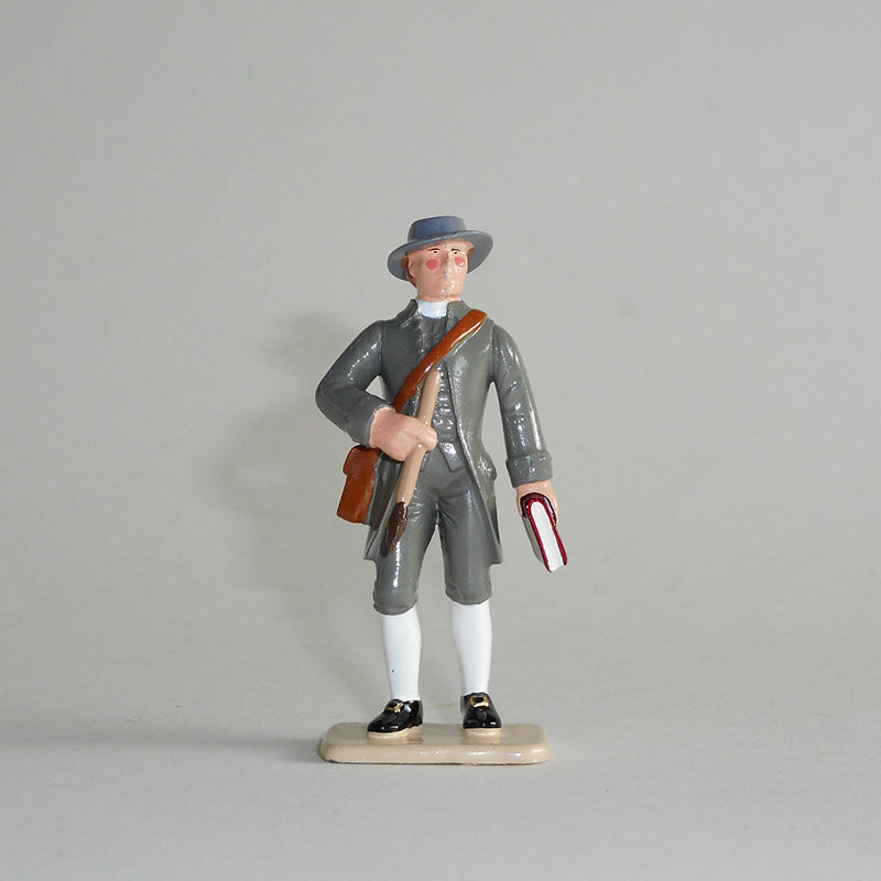 Figurine of John Webber, exquisitely hand painted