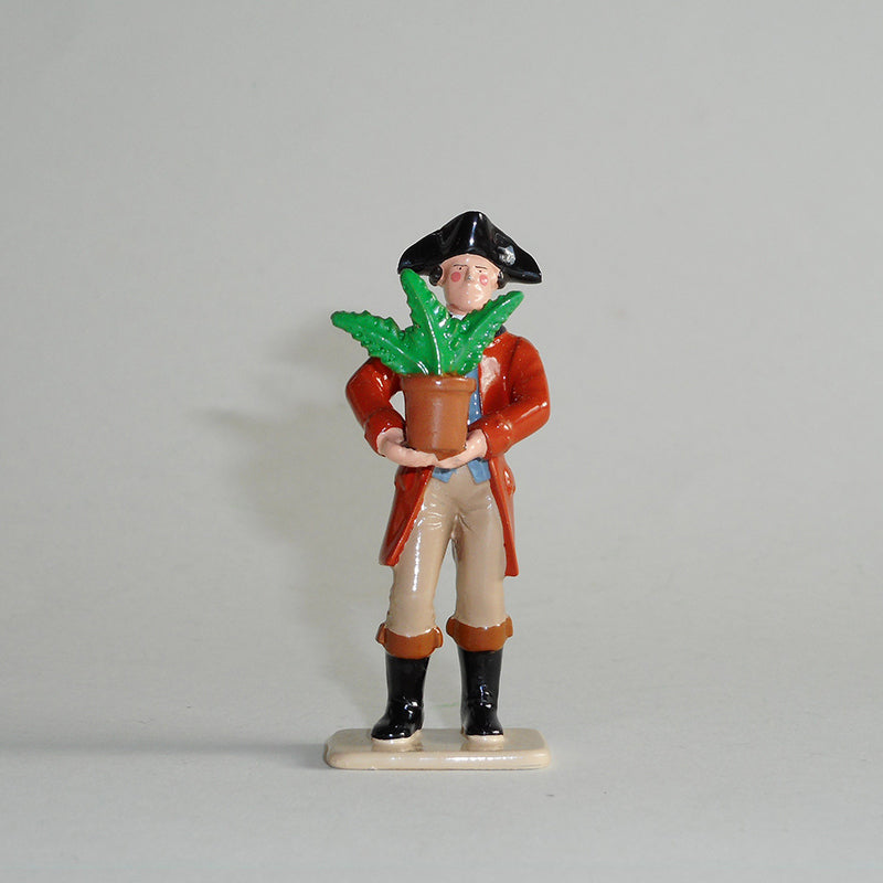 Figurine of Sir Joseph Banks, exquisitely hand painted