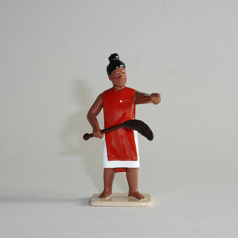 Figurine of Tupaia, exquisitely hand painted
