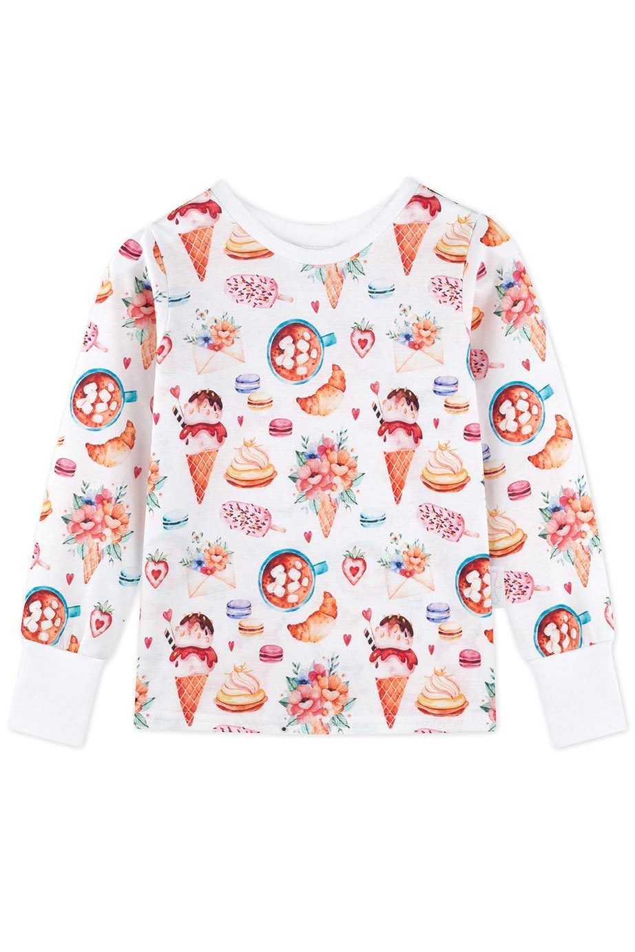 Candy Pyjama Shirt Kinder