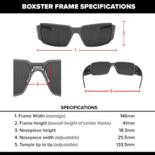 Load image into Gallery viewer, Boxster - Black with Smoked Lens