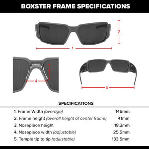 Boxster - Black with Smoked Lens
