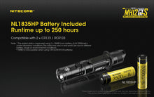 Load image into Gallery viewer, Nitecore -  MH12GTS 1800 Lumens USB Rechargeable