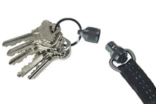 Load image into Gallery viewer, Trayvax LINK LANYARD-Stealth Black Leather