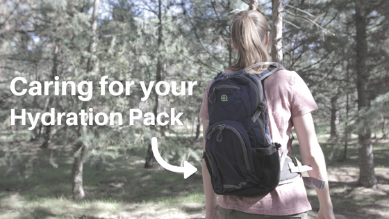 How to Care for Your Hydration Pack