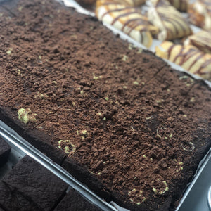 Choc Mint Brownie - 600g Slab
