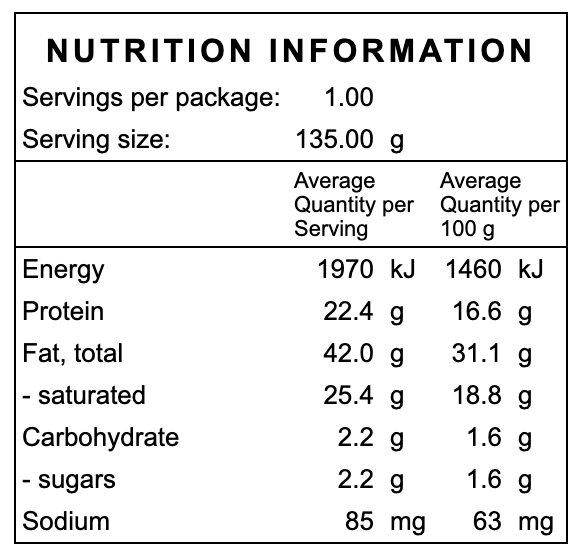 Mushroom, Spinach and Tomato Quiche Nutrition