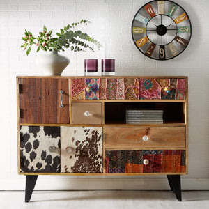 How to organise a sideboard for easy entertaining