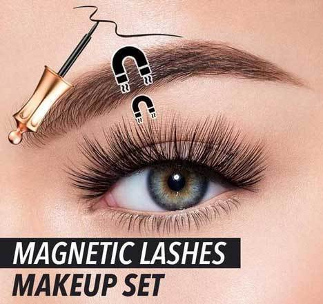 Magnetic Lashes + Eyeliner Magnetic Kit