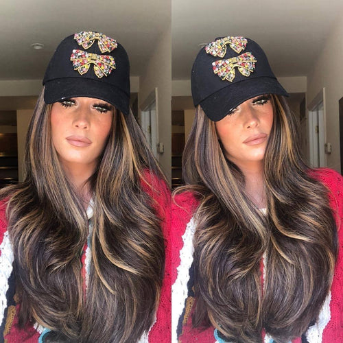 Honey Brown Wave Wig