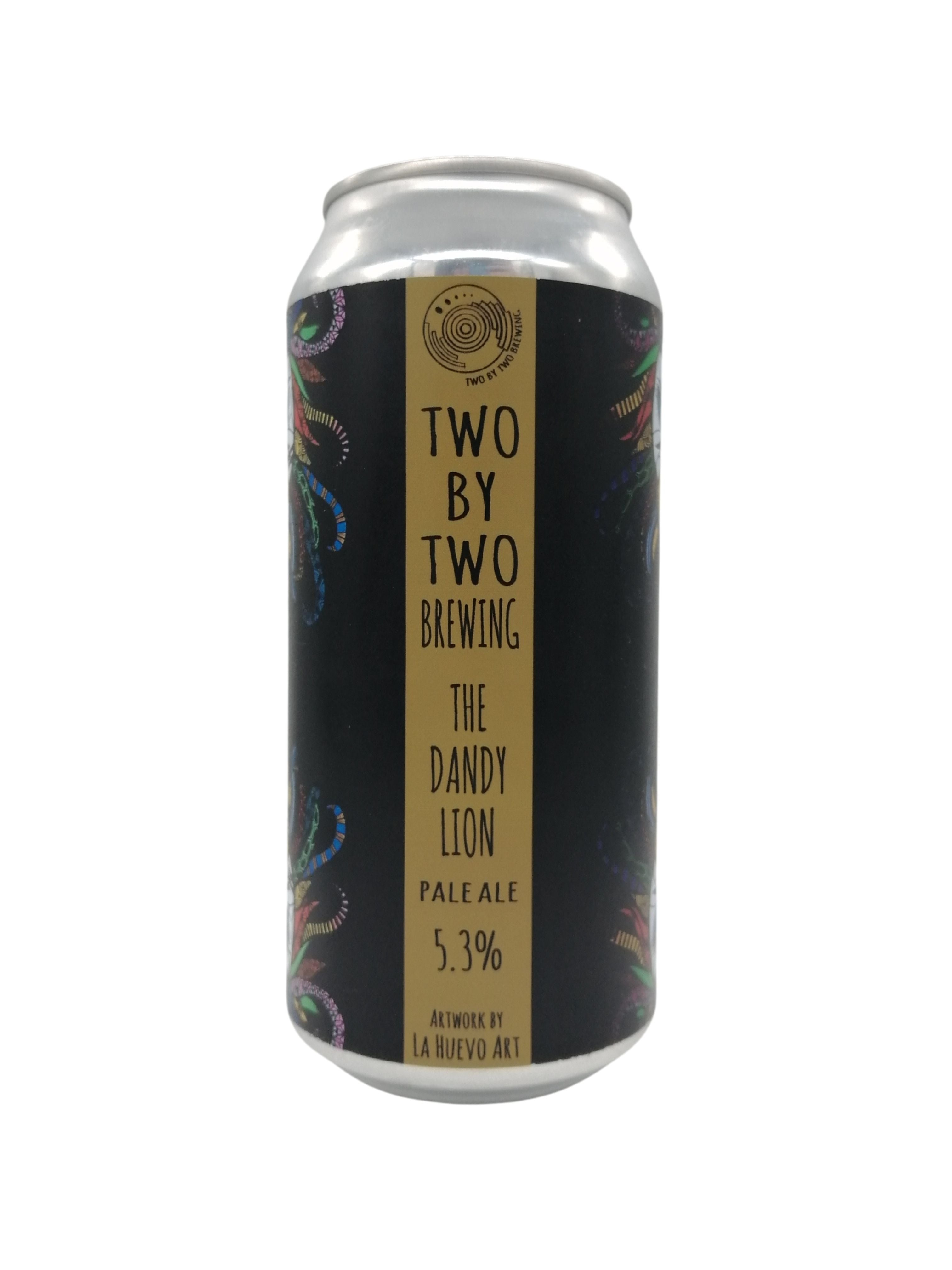Two By Two - The Dandy Lion - Pale - 5.3% (3.91 UT)