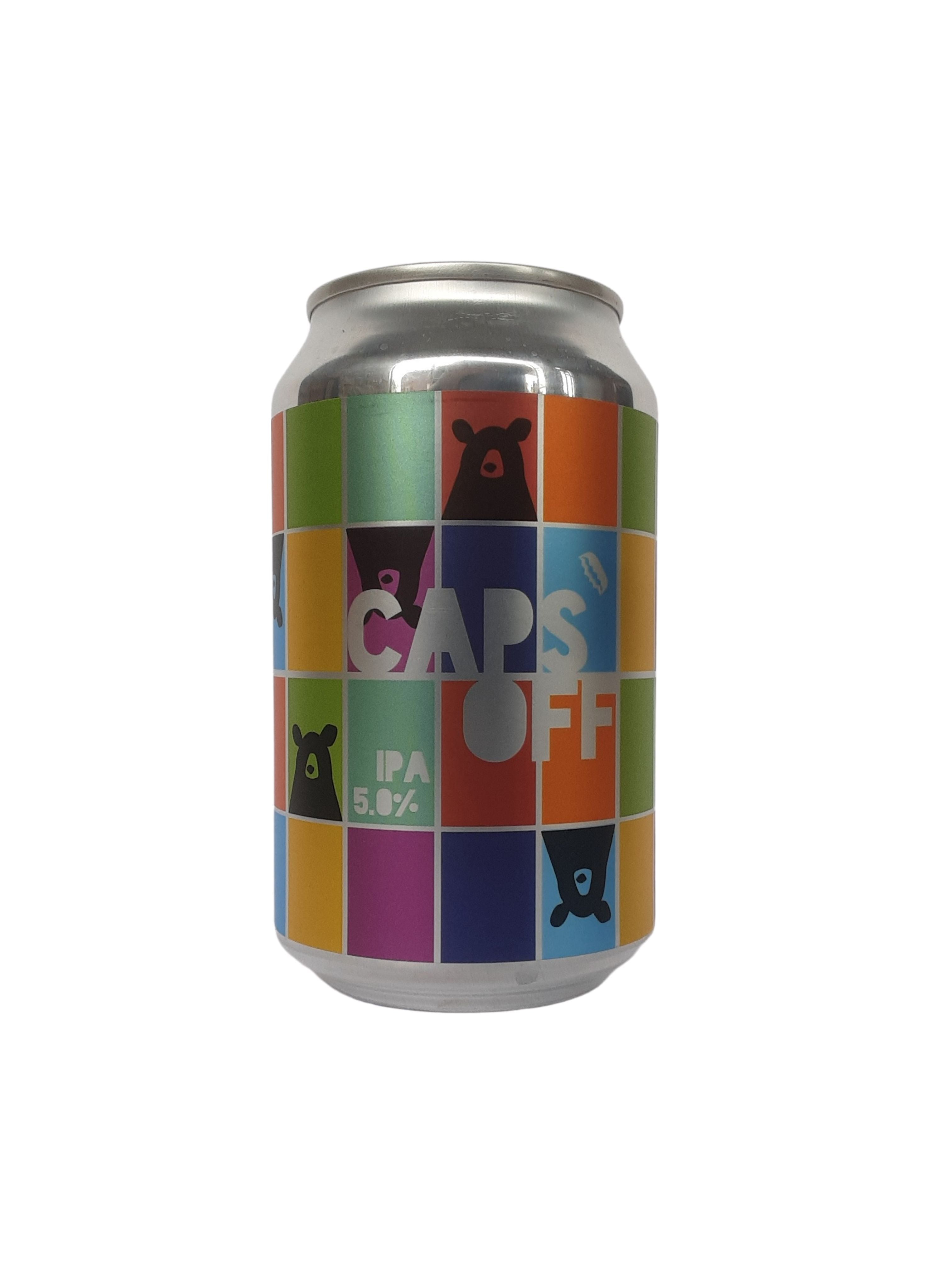 Caps Off - IPA - IPA - 5% (Brand New)