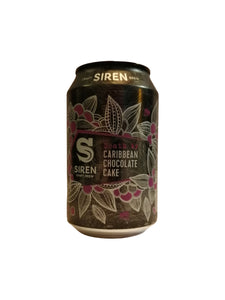 Siren - Death By Caribbean Chocolate Cake - Stout - 10.2% (Brand New)