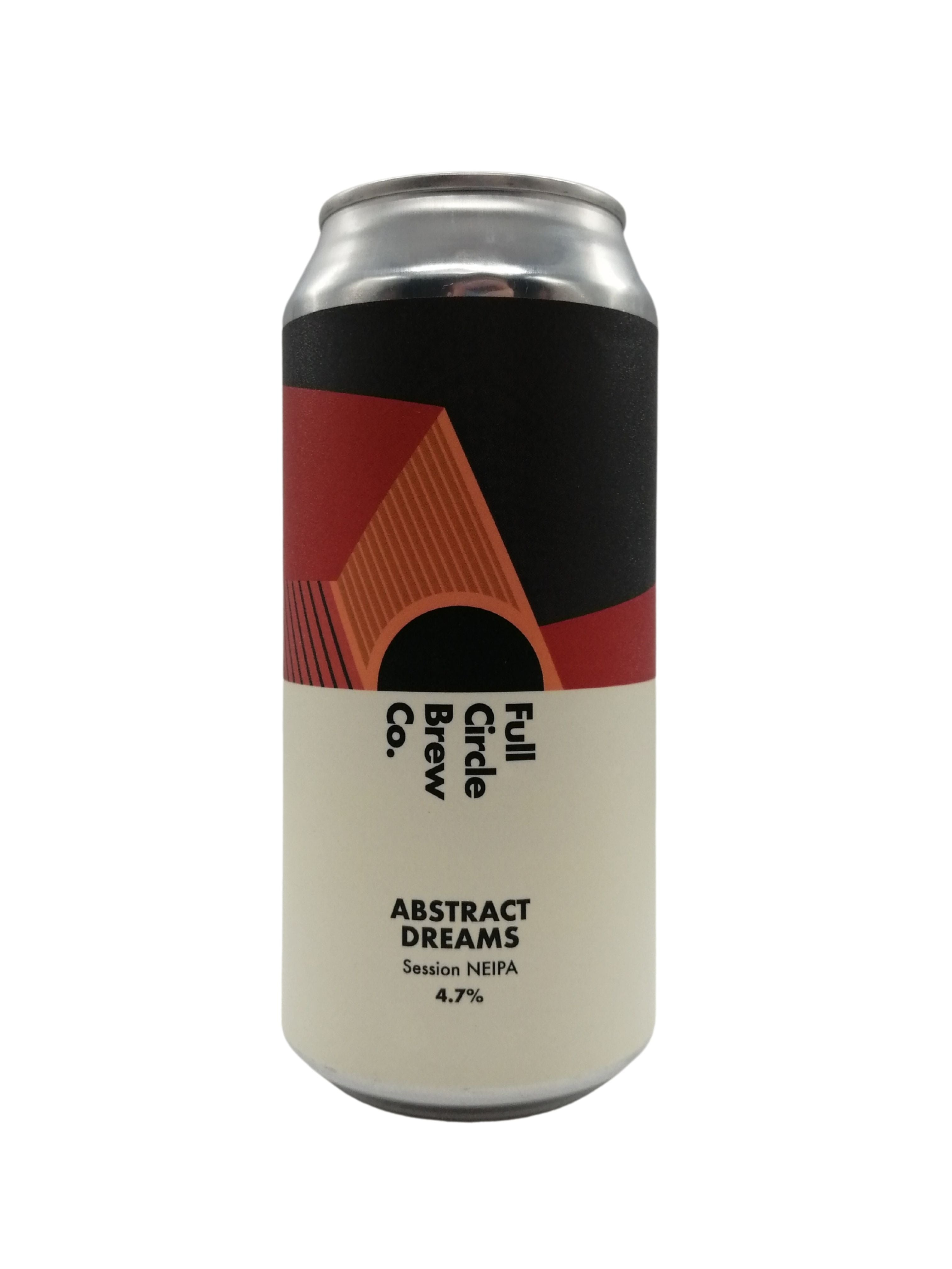 Full Circle - Abstract Dreams - Session NEIPA - 4.7% (Brand New)