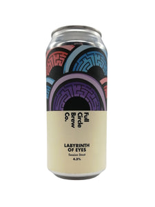 Full Circle - Labyrinth Of Eyes - Stout - 4.3% (Brand New)