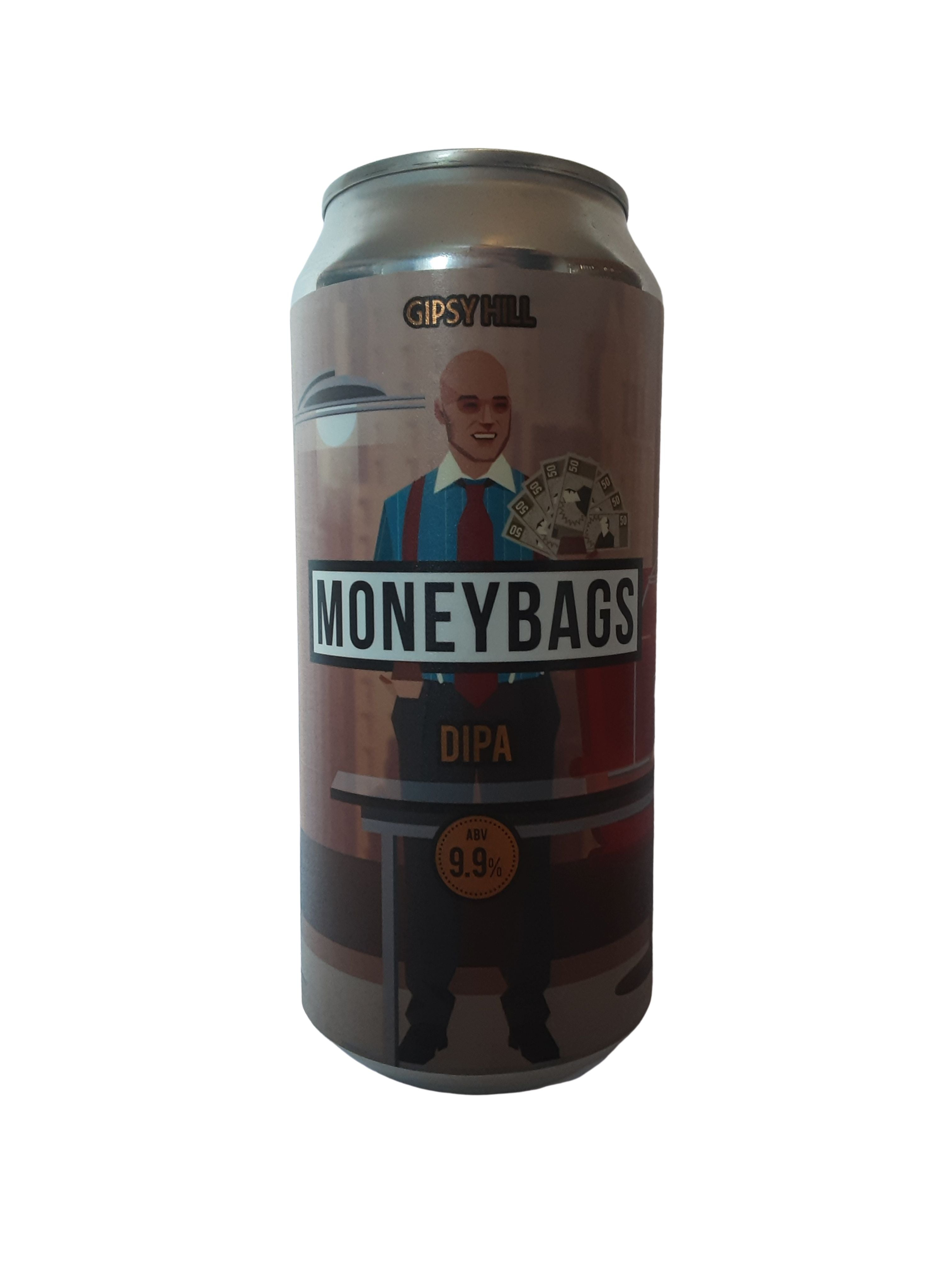 Gipsy Hill - Moneybags - DIPA - 9.9% (4.11 UT)