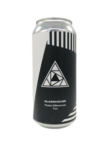 GlassHouse - Poetic Differences - Pale - 5.4% (4.14 UT)