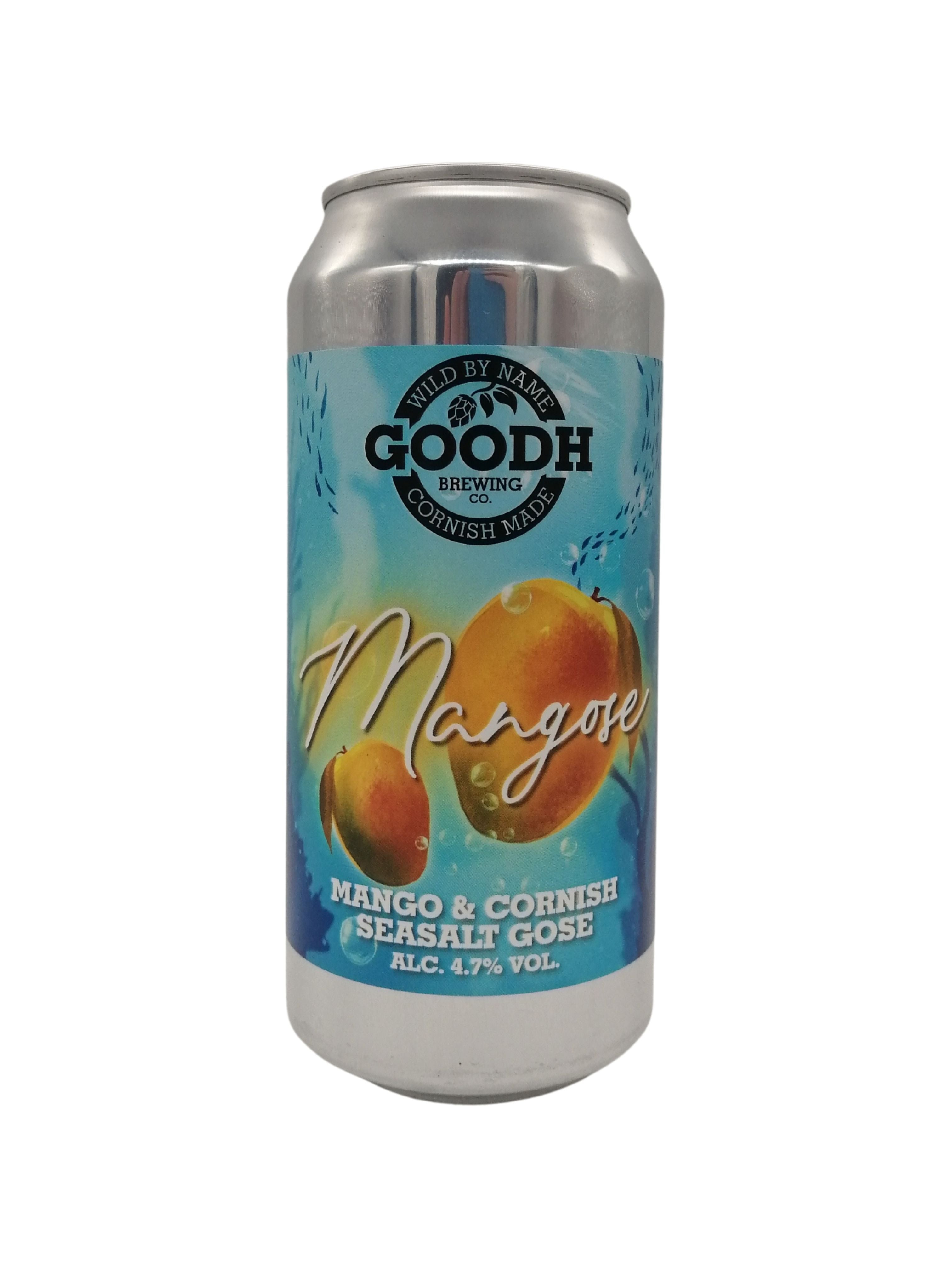 Goodh Brewing - Mangose - Sour - 4.7% (Brand New)