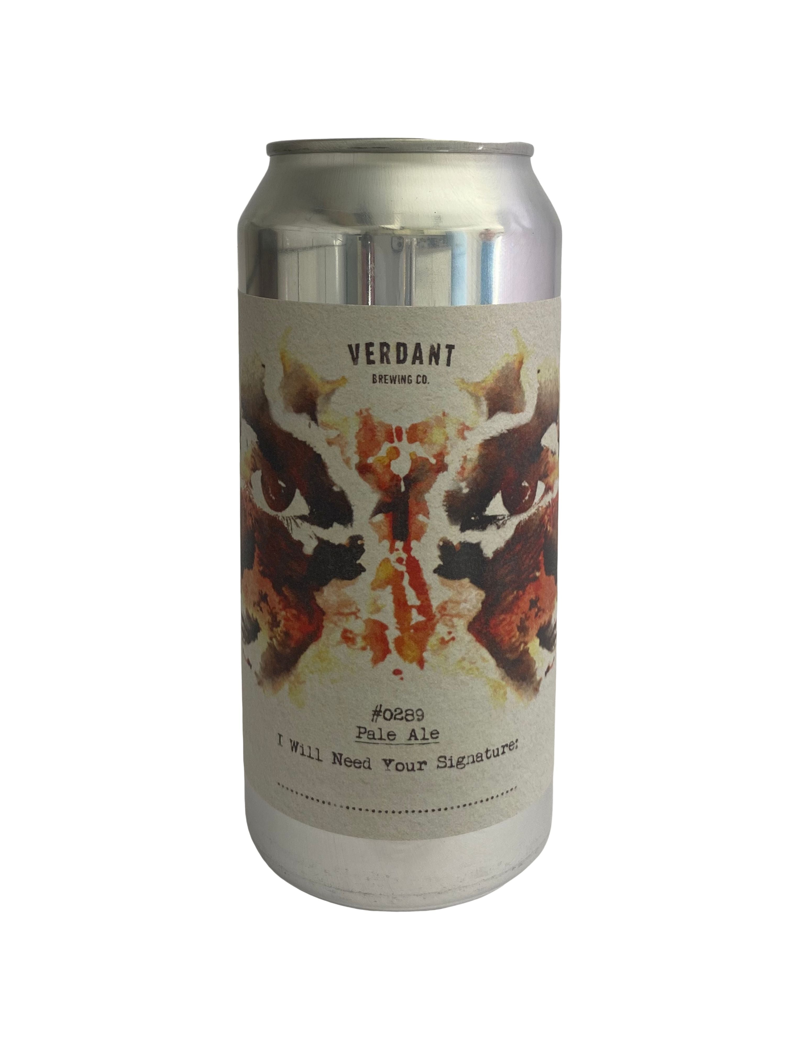 Verdant - I Will Need Your Signature - Pale Ale - 5.5% (4.04 UT)