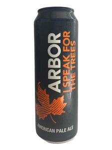 Arbor - I Speak For The Trees - Pale Ale - 5% (3.75 UT)
