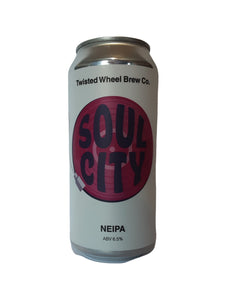 Twisted Wheel - Soul City - NEIPA - 6.5% (Brand New)
