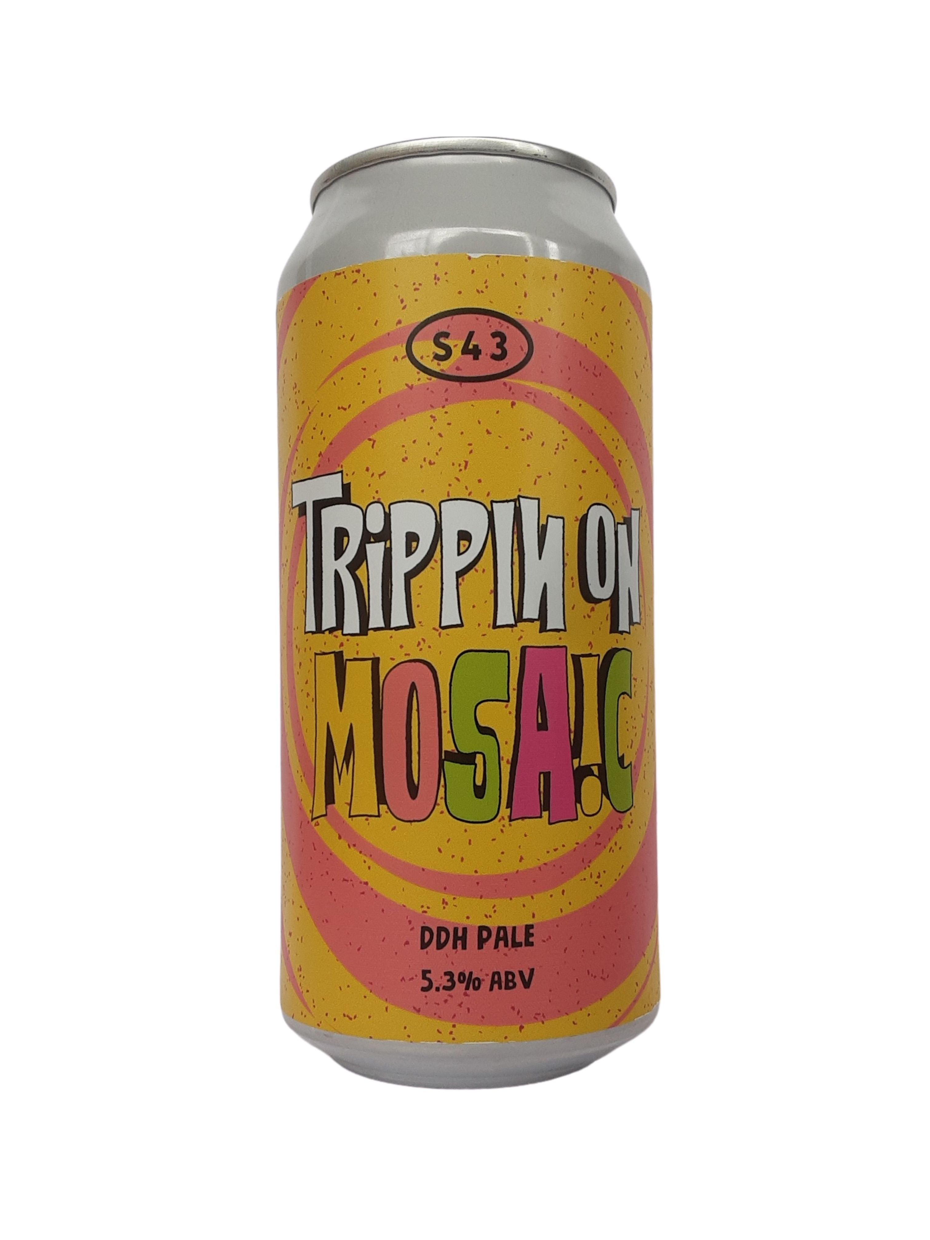 S43 - Trippin On Mosaic - DDH Pale - 5.3% (3.92 UT)