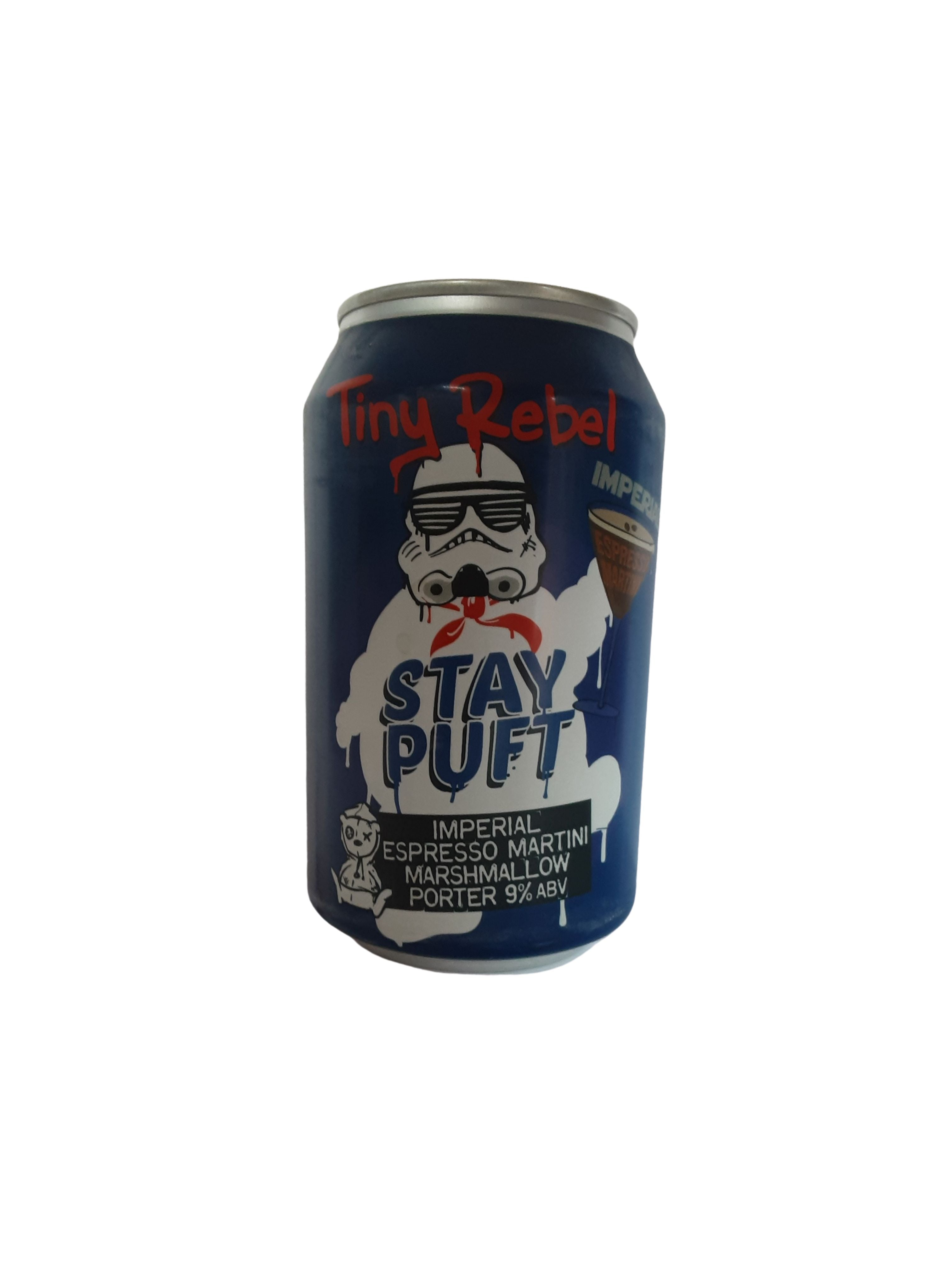 Tiny Rebel - Stay Puft Imperial Espresso Martini Marshmallow Porter - Imperial Porter - 9% (4.03)
