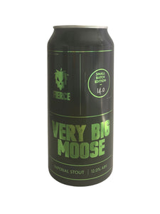 Fierce - Very Big Moose - Stout - 12.0% (4.20 UT)