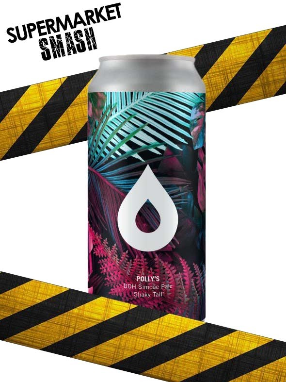 Polly's - Shaky Tail - DDH Pale - 5.6% (Brand New) - Max 2 Per Person