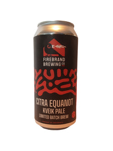 Firebrand - Citra Equanot Kveik Pale - American Pale Ale - 4.4% (Brand New)