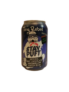 Tiny Rebel - Stay Puft Imperial Mint Chocolate Marshmallow Porter - Imperial Porter - 9% (3.99 UT)