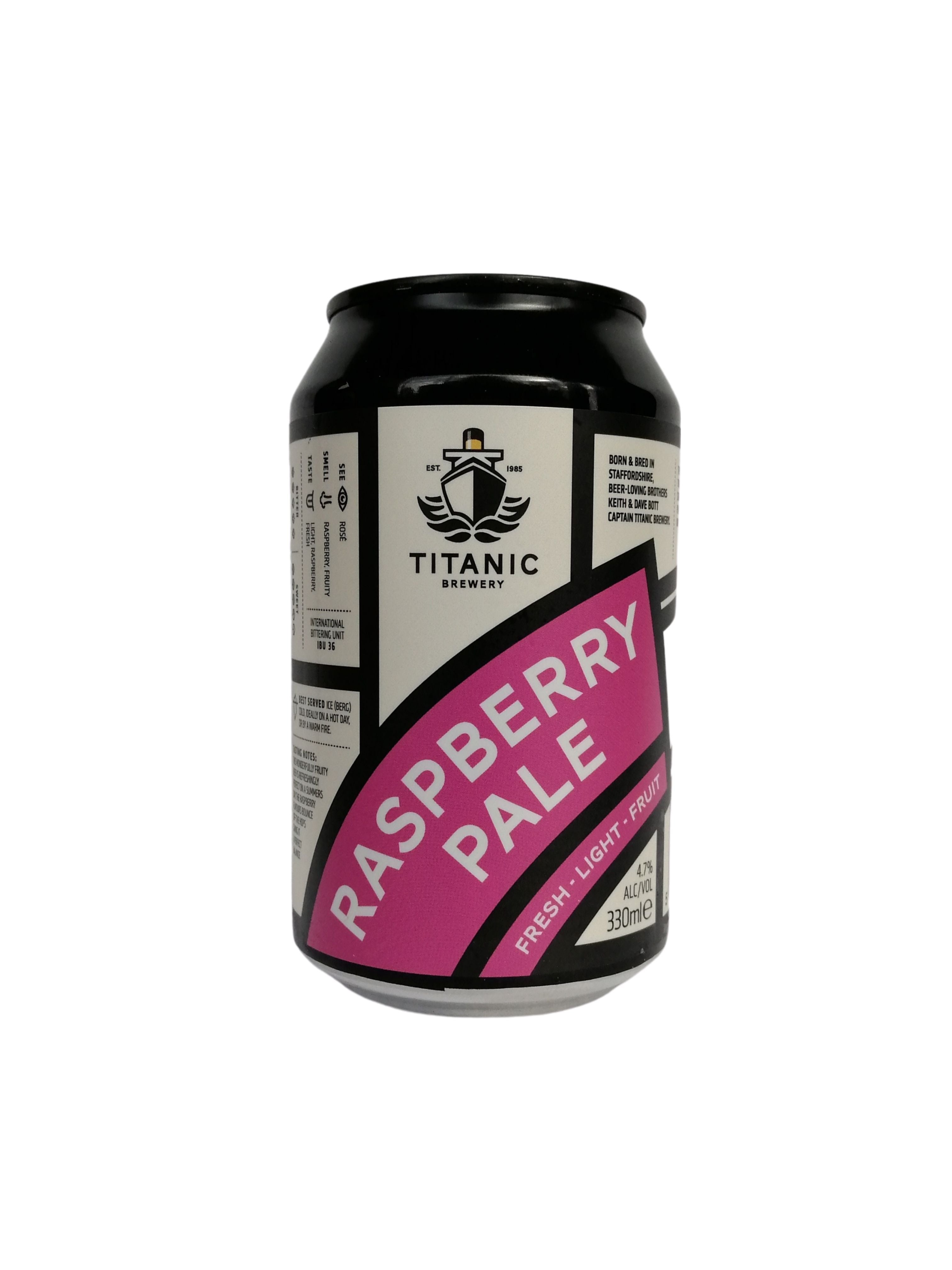Titanic - Raspberry Pale - Fruit - 4.7% (3.53 UT)