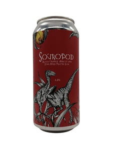 Staggeringly Good - Souropod: Blood Orange, Apricot & Star Anise - Sour - 6.4% (Brand New)