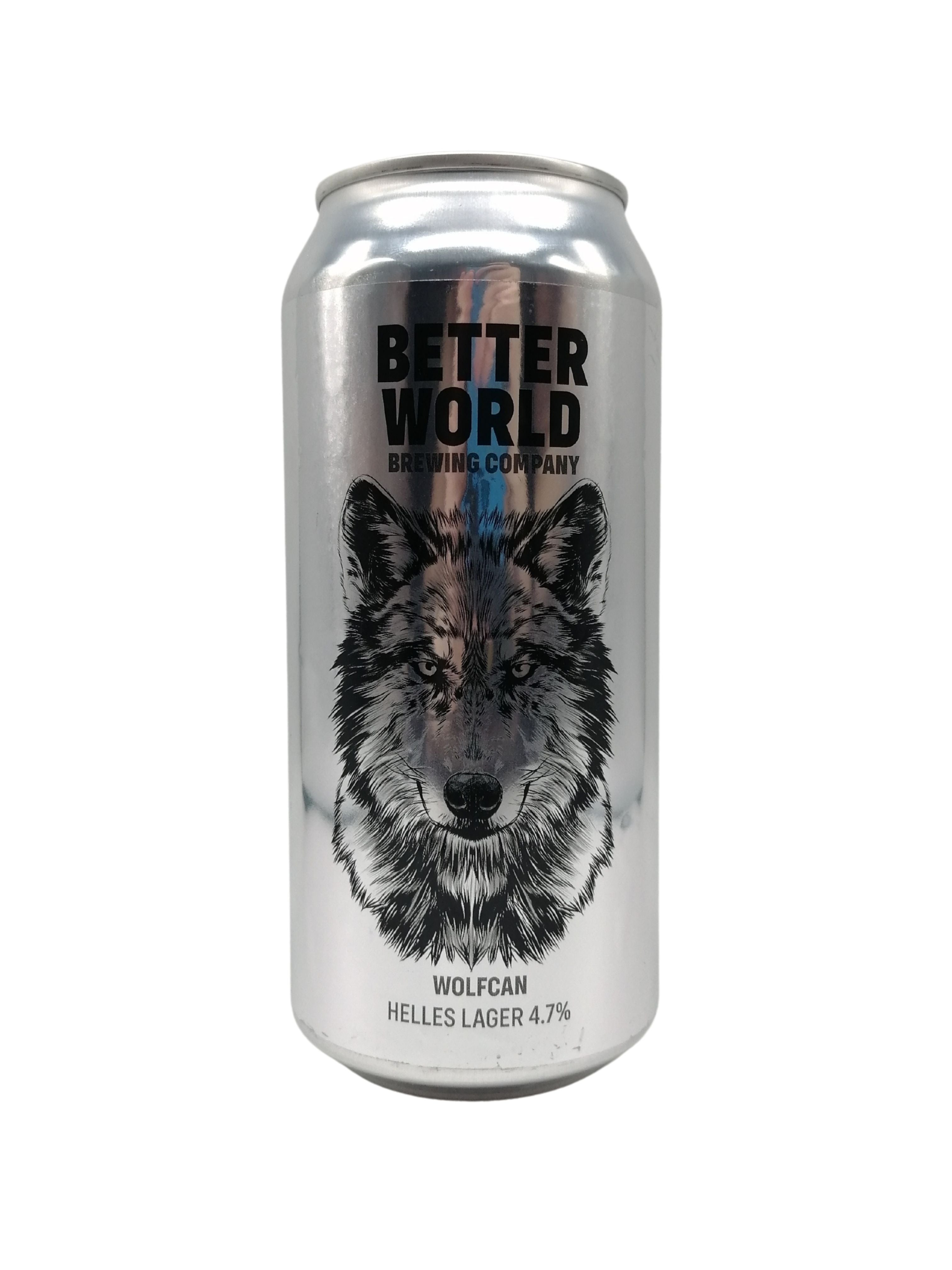 Better World - Wolfcan - Helles - 4.7% (Brand New) (Max 2 PP)