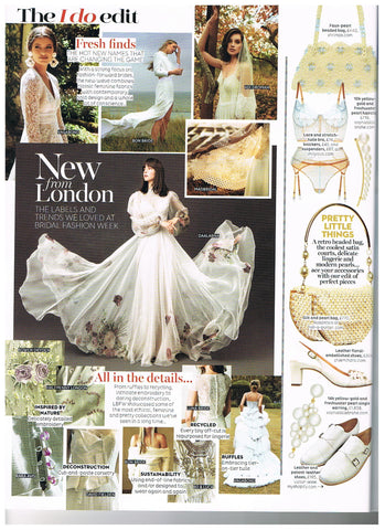 brides magazine - Luna Bride Feature Ethical wedding dress