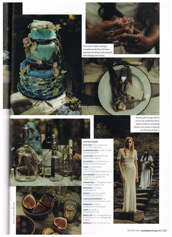 Wedding ideas magazine into the woods - Luna Bride Feature