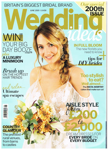 Wedding ideas magazine - Luna Bride Feature