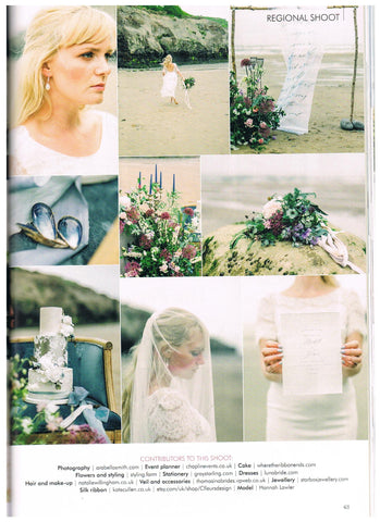 Yorkshire Wedding - Luna bride feature