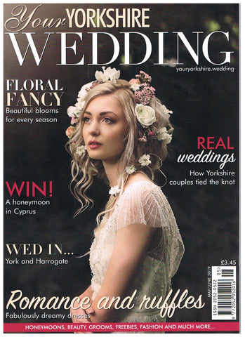 Yorkshire wedding magazine - Luna Bride Feature