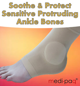 MEDIPAQ Gel Ankle Protection Sock / Knöchel Schutz | Hola Wellbeing