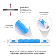 Load image into Gallery viewer, 66fit Trigger Point Massage Stick / Triggerpunkt Massage Stab | Hola Wellbeing