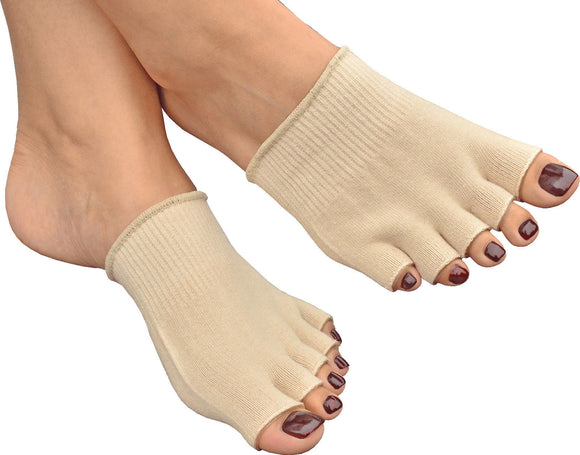 MEDIPAQ Gel Five Toe Moisturising Socks / Gel Zehenspreizer Feuchtigkeits Spend | Hola Wellbeing