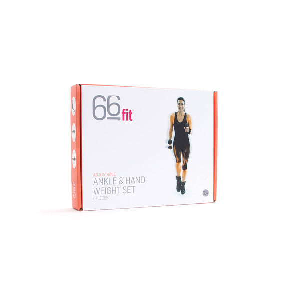 66fit Ankle, Wrist and Dumbbells Weight Set - 4kg | Hola Wellbeing