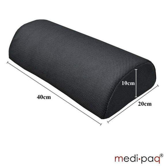Medipaq Half Moon Memory Foam Cushion / Halbmond Memoryschaum Kissen | Hola Wellbeing