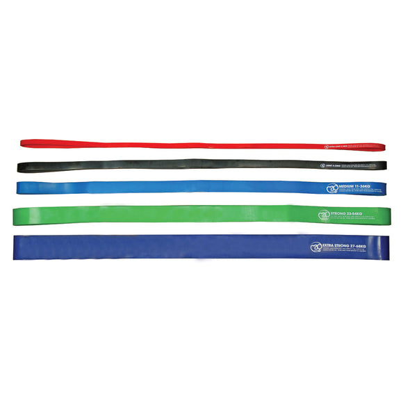 Fitness-Mad Power Resistance Loop-Bändern / Loop Bands - 104cm - Hola Wellbeing