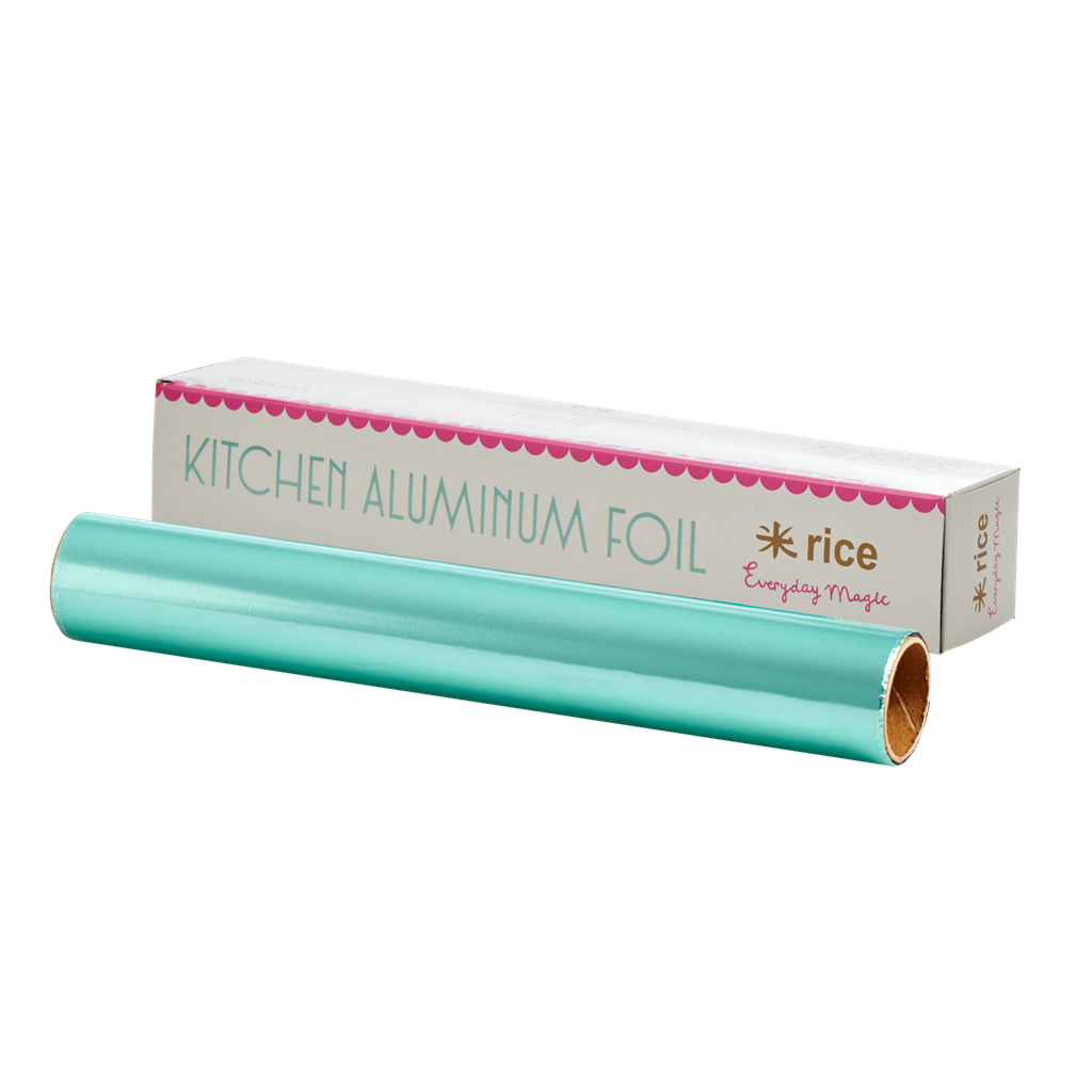 Aluminum Foil - Mint Green - 10m. - Rice By Rice