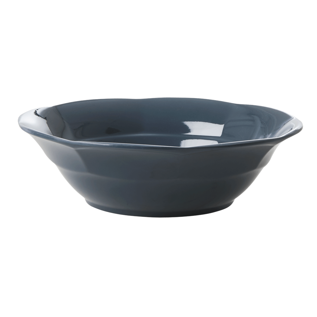 Melamine Soup Bowl in Dark Grey