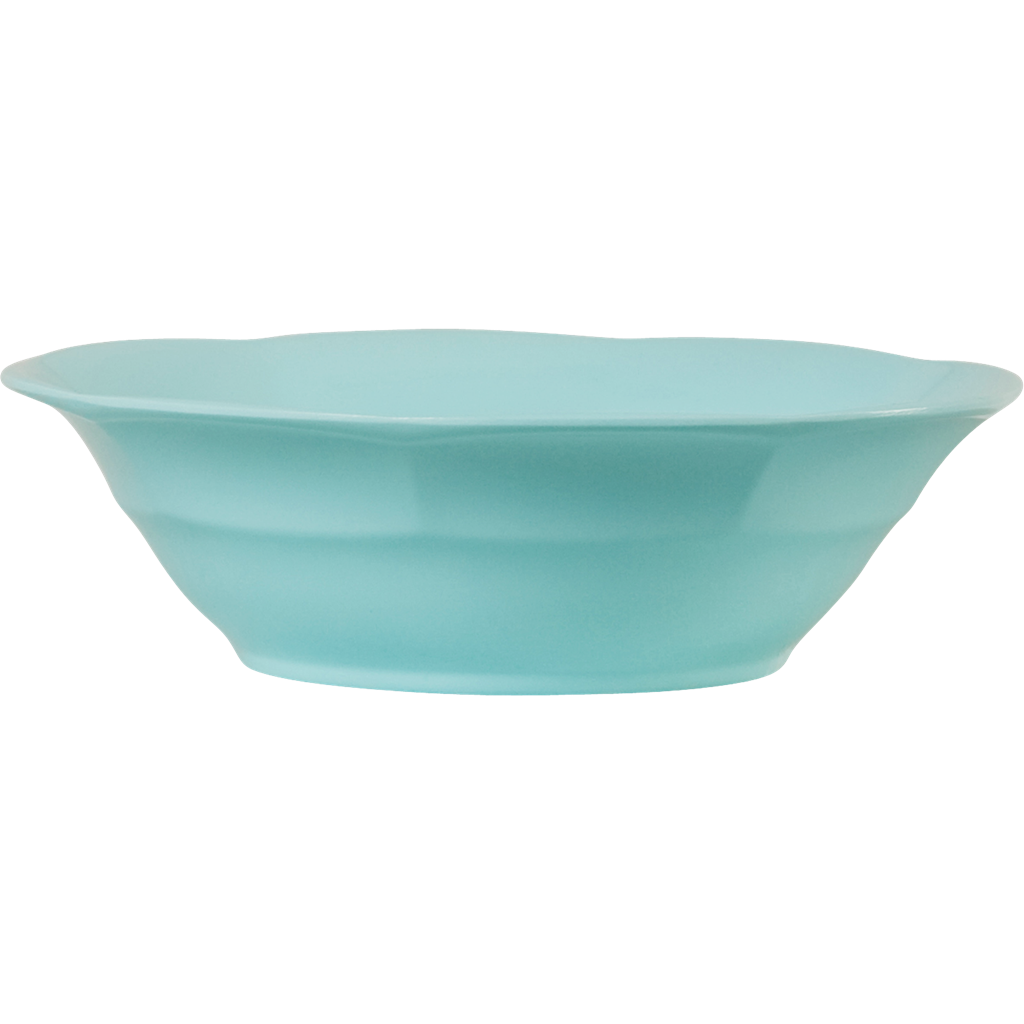 Melamine Soup Bowl in Dark Mint - Rice By Rice