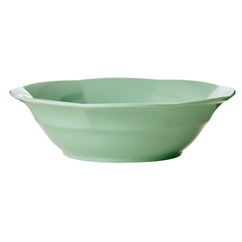 Melamine Soup Bowl in Khaki - Rice By Rice