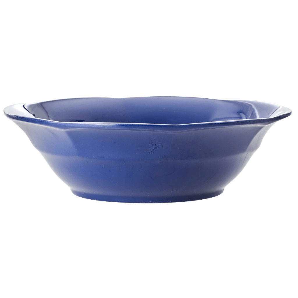Melamine Soup Bowl in Navy Blue Color - Rice By Rice